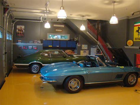Custom Home Interiors Custom Garage Interior Cutting Edge Custom Painting