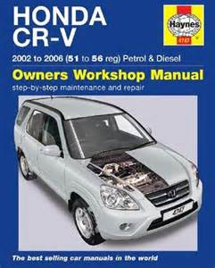honda cr v 2002 2006 haynes service repair manual