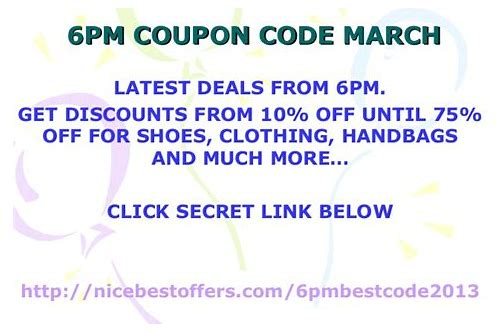coupon 6pm 10 off