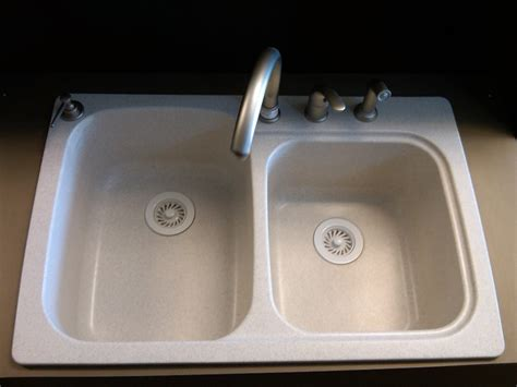 Granite Kitchen Sinks Pros And Cons Cleaning A Composite Sink Home Design Ideas And Pictures
