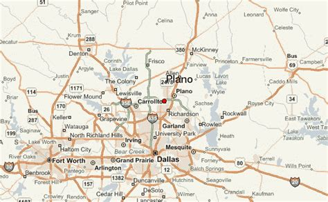 where is plano texas on a map plano location guide
