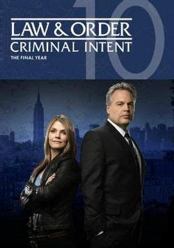 law & order: criminal intent (season 10) wikipedia
