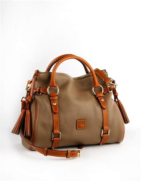 Dooney Bourke Ebelle5 Designer Dooney And Bourke Mini Handbag And Organizer Giveaway by Lyst Dooney Bourke Dillen Ii Small Leather Satchel Bag