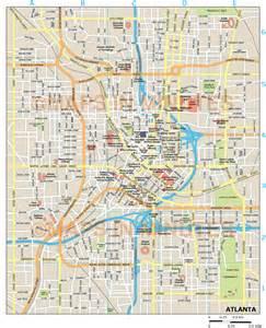 Atlanta City Map by Atlanta City Map