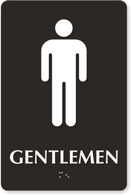Free Printable Bathroom Signs by Gentlemen Restroom Signs Male And Accessible Pictograms