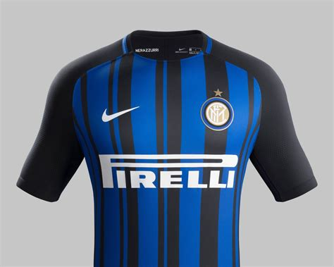 Jersey Inter Milan Home 2016 2017 inter milan reveals 2017 18 home jersey soccer365