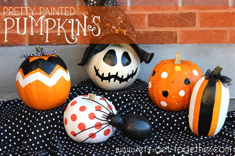 pretty painted pumpkins www pixshark com images