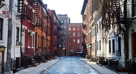 imagenes vintage nueva york greenwich y west village en el downtown de nueva york la