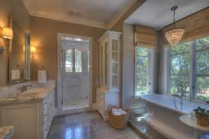 Shower Over Bath french provincial traditional bathroom sacramento