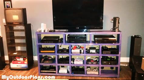 video game storage ideas diy video game console storage myoutdoorplans free