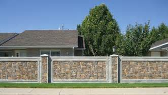 precast fencing architectual wall panels by structurecast stonetree fencing panels