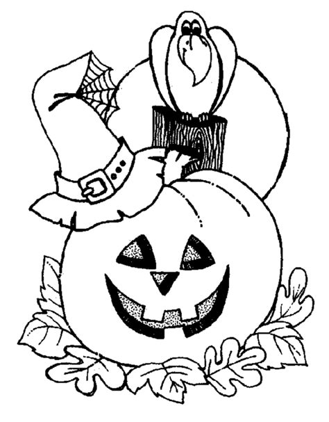 Free Coloring Pages Halloween