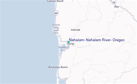 nehalem nehalem river oregon tide station location guide