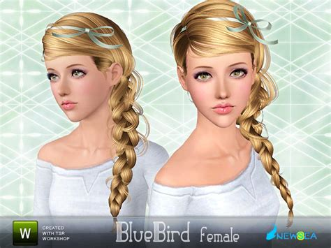sims 3 free hairstyle downloads newsea bluebird female hairstyle