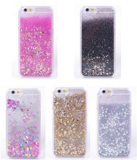 buy luxury rainbow unicorn horse twinkle glitter star flowing liquid phone case