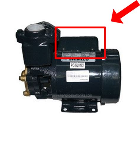 Kapasitor Pompa Air Shimizu Cara Mengganti Atau Memasang Kapasitor Mesin Pompa Air