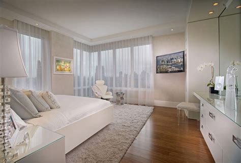 bedroom view picot residence in new york city showcases brilliant