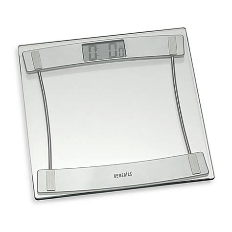 bathroom scales at bed bath and beyond homedics 174 glass digital bathroom scale 405 bed bath beyond