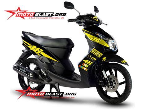 Stiker Motor Mio Soul 2009 Putih modif striping yamaha mio soul 2010 black 46 motoblast