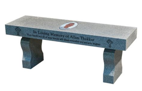 graveside memorial benches memorial benches granite memorial bench cremation