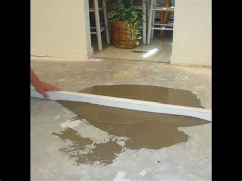 level floor how can i prepare uneven concrete basement floor for vinyl