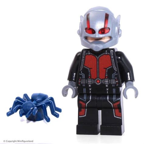 Mainan Figure Kidslogic Antman Marvel Set 6 lego marvel heroes ant lang minifigure split from 76039 set bagged the