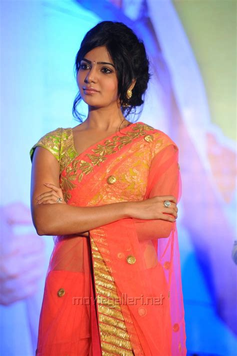 photos of heroine in saree picture 523580 telugu heroine samantha transparent saree