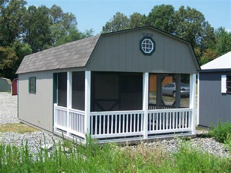 barn style shed  porch capitol sheds