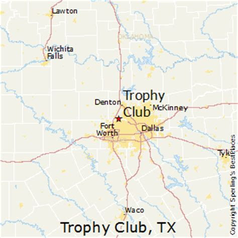 trophy club texas map best places to live in trophy club texas