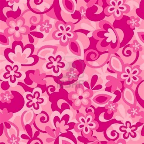 Repeat Trend Florals 2 by Floral Camo Seamless Repeat Pattern Vector Illustration