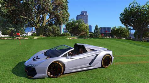 second modding car zentorno decapotable lamborghini 2015