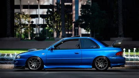 subaru 22b wallpaper 1366x768 car sport sti wallpaper tuning car
