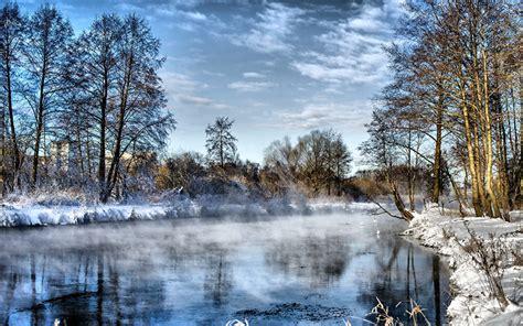 imagenes de otoño invierno paisajes fotos natur winter himmel landschaftsfotografie flusse b 228 ume