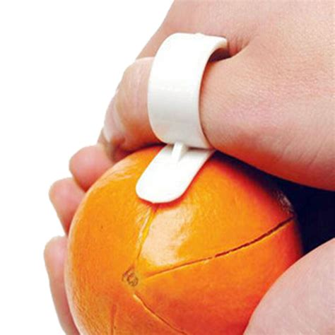 Kitchen Tools With Material Orange 10pcs creative kitchen gadgets cooking tools mandarin orange peeler parer finger type cleverly