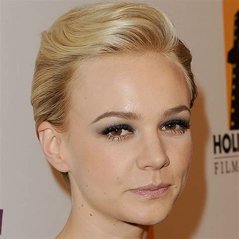 formal comb back pixie cut carey mulligan hairstyle hairstyles party hairstyle ideas for short hair celebrity short