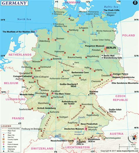 large map of germany large germany map image large germany map hd picture