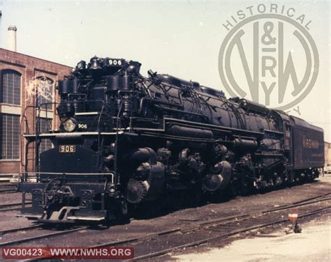 vgn steam engine ag 906 at norfolk va the virginian