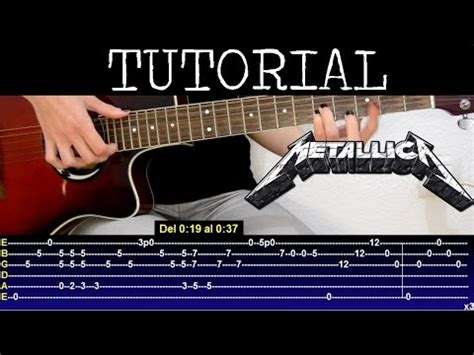 youtube tutorial nothing else matters c 243 mo tocar nothing else matters de metallica parte 1