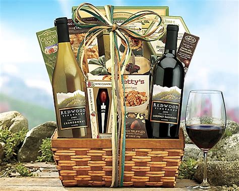 Country Gifts - wine country gift baskets wine