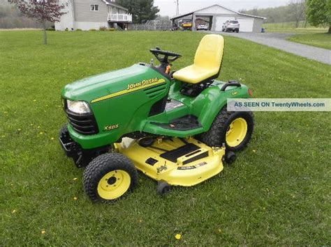 Lawn And Garden Tractors by Deere X585 Lawn And Garden Tractor Lawn Mower 4x4