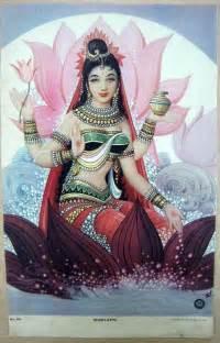 Laxmi Lotus Befairbefunky Lakshmi Hindu Goddess Of