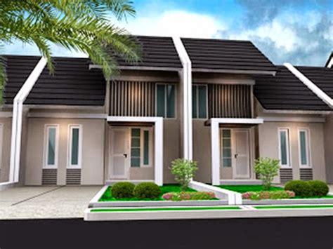 konsep design eksterior rumah desain rumah minimalis type 45 terbaru konsep info