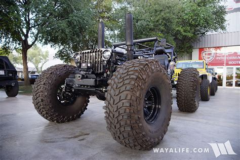 custom willys jeep 2015 sema black ops custom willys jeep