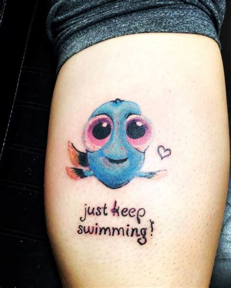 just keep swimming tattoo dory just keep swimming www imgkid the