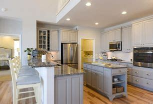 country kitchen with kitchen island raised panel in - Country Kitchen Millsboro De