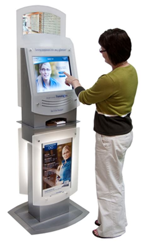kiosk and self service transitions interactive kiosk