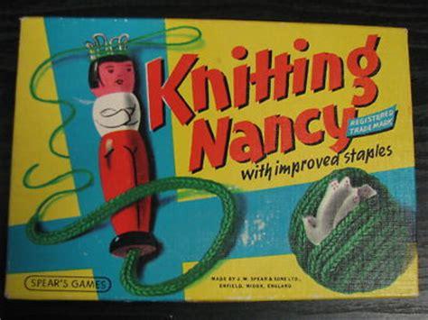 knitting nancy vintage knitting nancy by spear s 1960 s antique