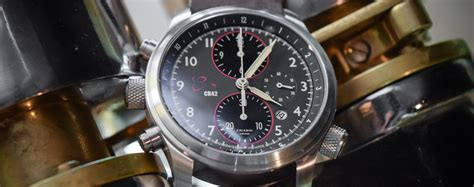 True Search Reviews Review Orologi Calamai Cr42 Chronograph A True Pilot S Monochrome Watches