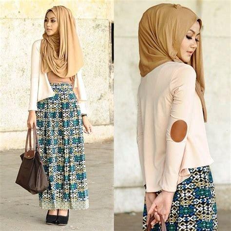 Fariza Tunik 18 contoh foto gaya modern trendy masa kini