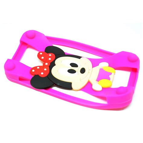 Bantal Leher Minnie Mouse Pink minnie mouse bumper ring silicone for smartphone 4